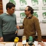 Raúl Salinero y Jesús Ojeda (Foto: El Correo de Burgos)