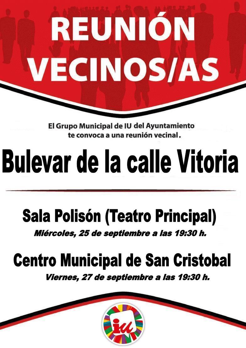 Bulevar Vitoria. cartel