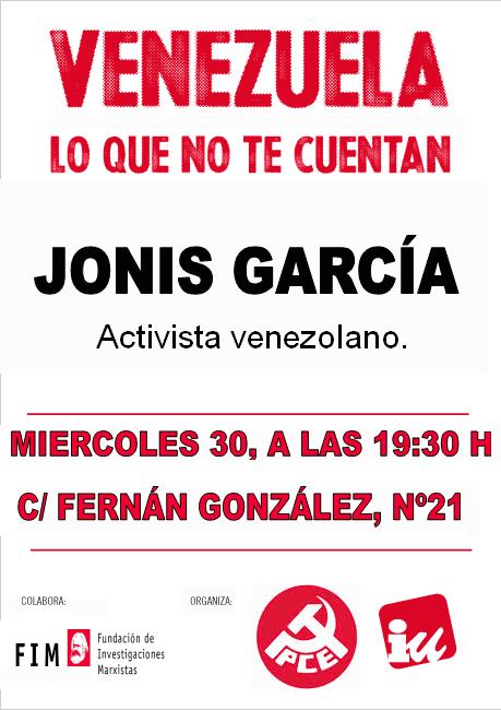 Cartel. 30 octubre. Actualidad en venezuela