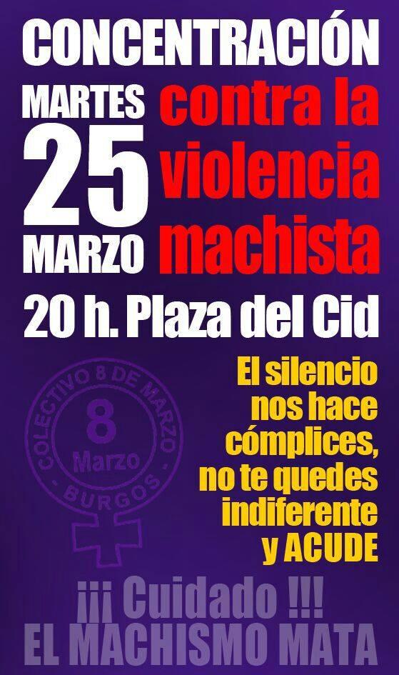 Photo of 25M. Concentración contra la violencia machista.