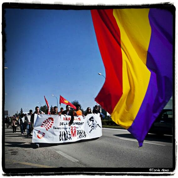 Photo of IU y Burgos con las Marchas de la Dignidad. El PP impide su adecuado desarrollo.