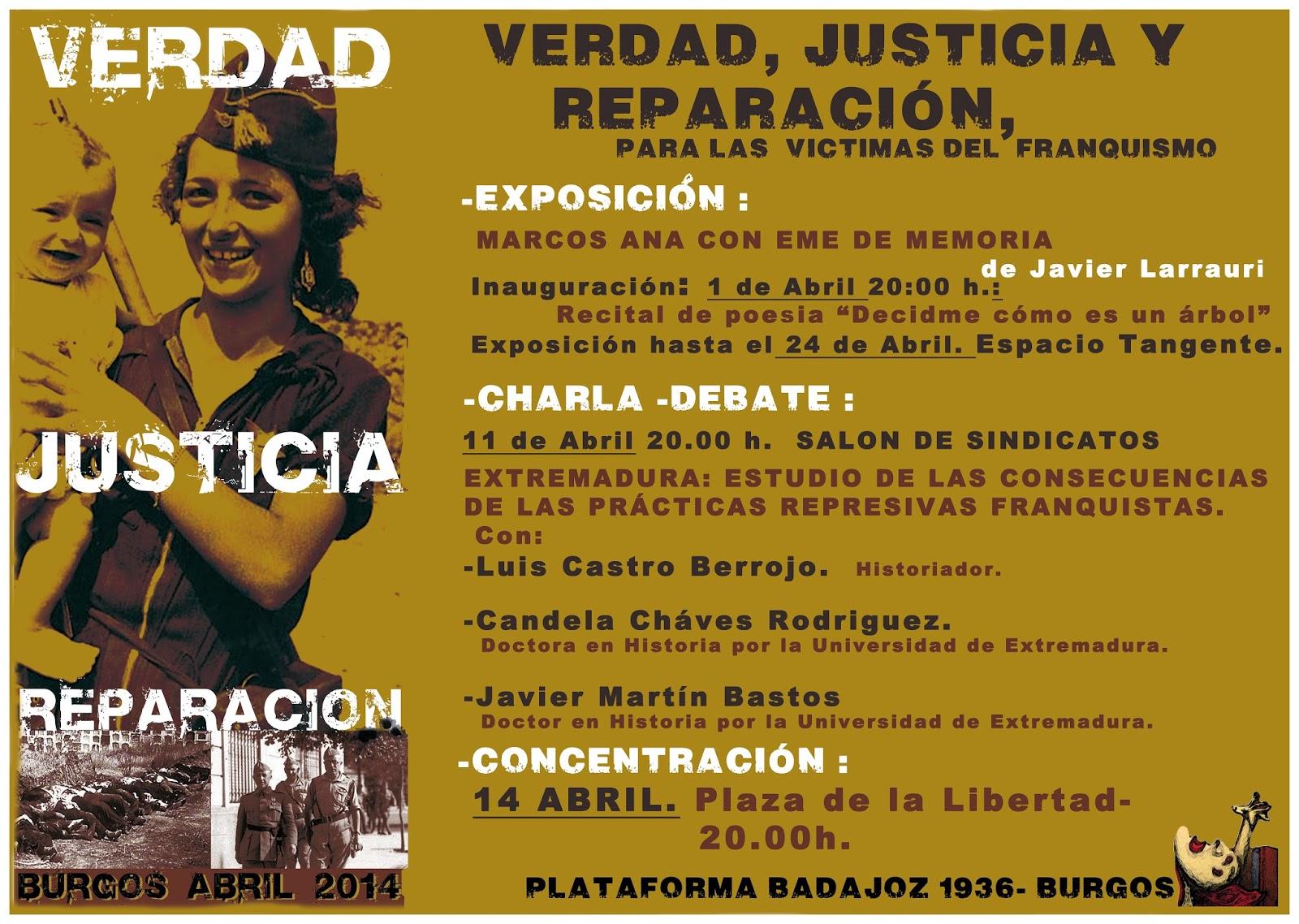 Photo of 11 abril. Extremadura: estudio de las consecuencias de las prácticas represivas Franquistas.
