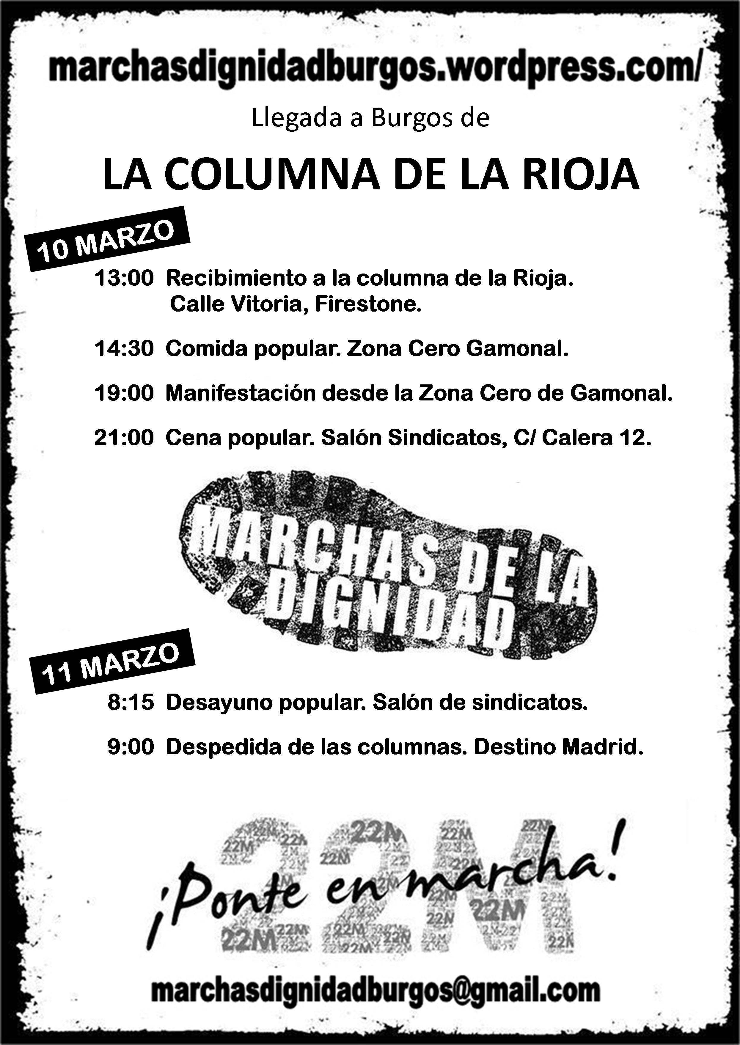 Photo of 10 de Marzo, día de las Marcha de la Dignidad en Burgos.
