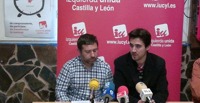 Photo of Javier Couso presenta el programa electoral para las europeas de Izquierda Unida en Burgos