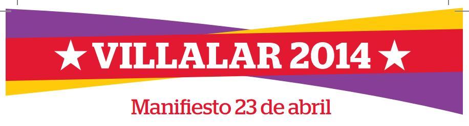 Photo of Manifiesto Villalar 2014.