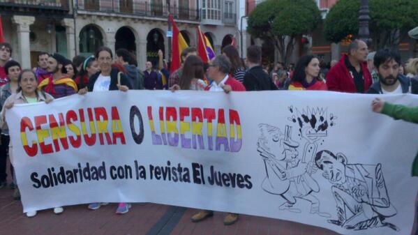 Photo of Mil personas exigen en Burgos un referéndum sobre la jefatura del estado y un Proceso Constituyente.