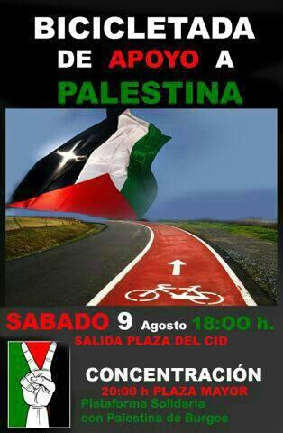 Photo of Bicicletada en favor de Gaza