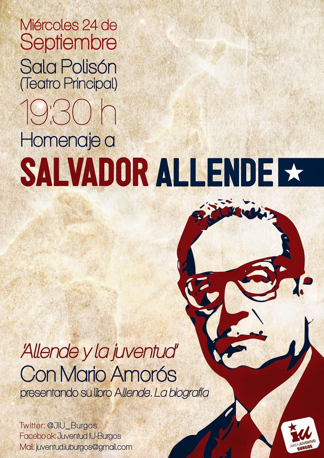 Photo of 24 de septiembre. Homenaje a Salvador Allende