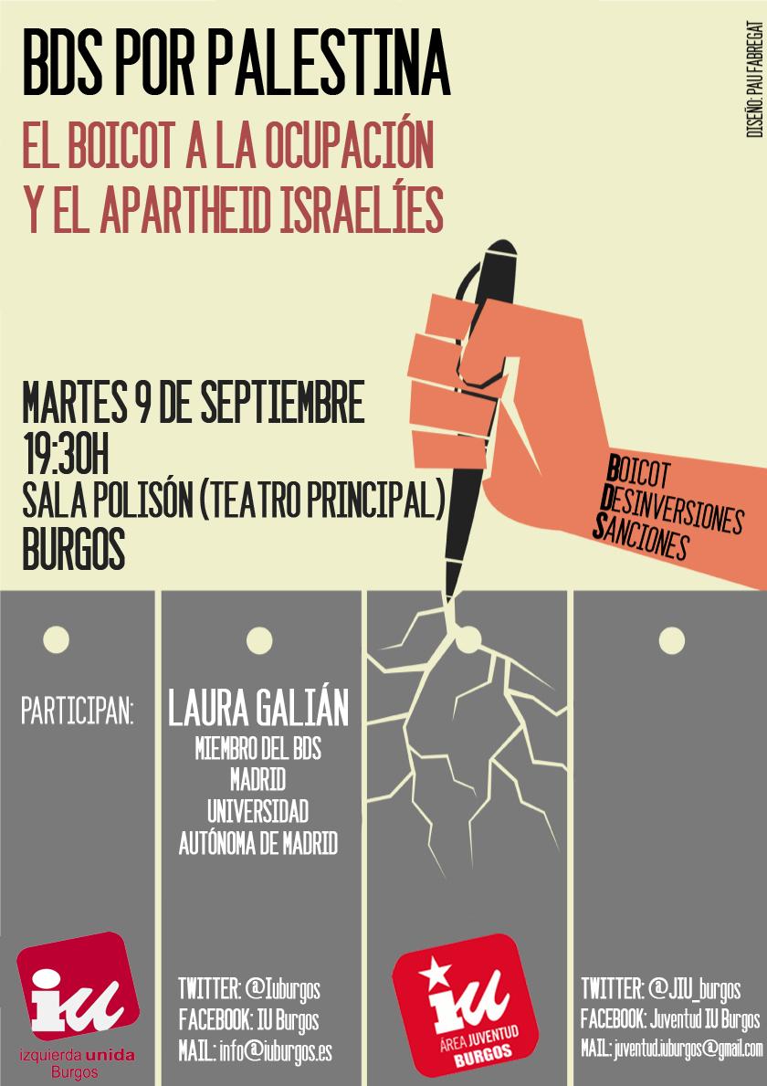 Cartel palestina IU (1)