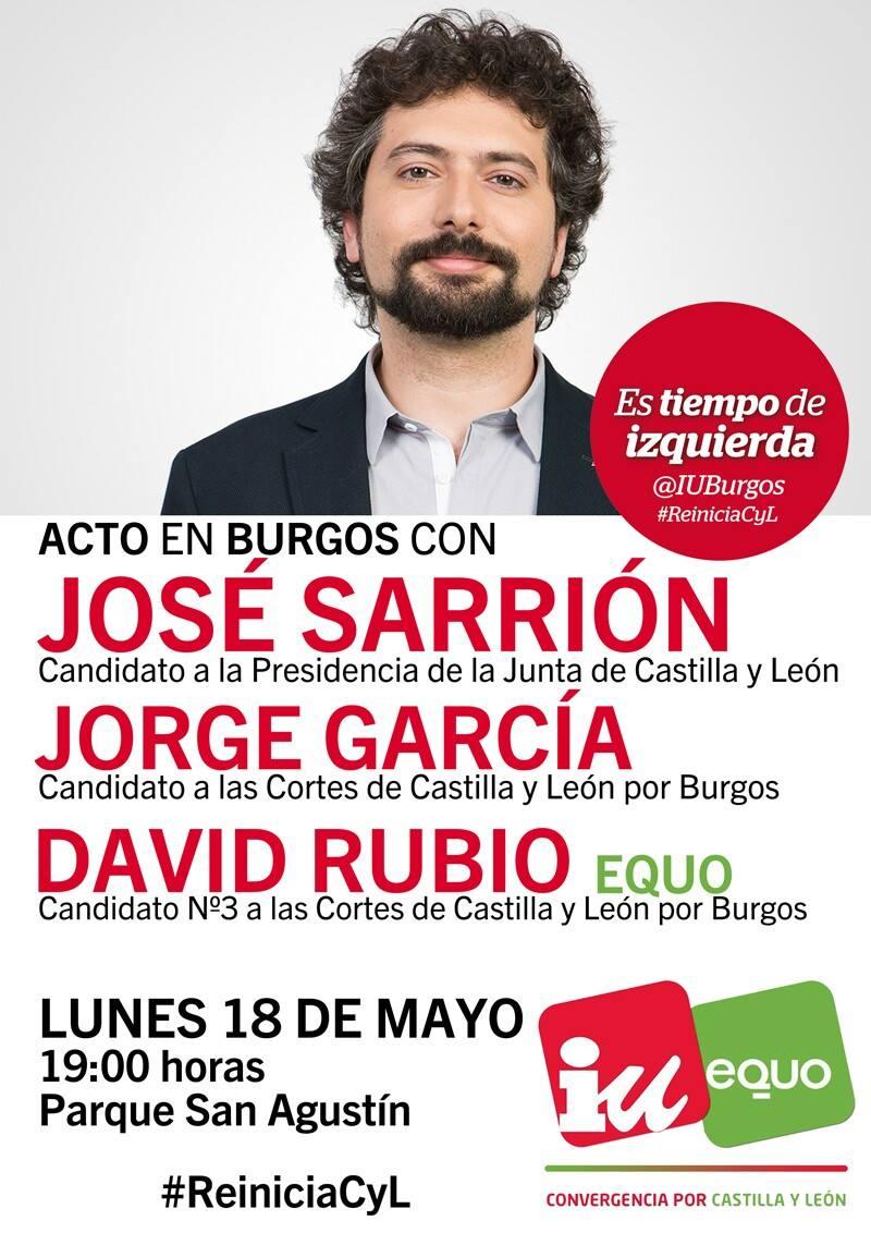 José Sarrion en Burgos