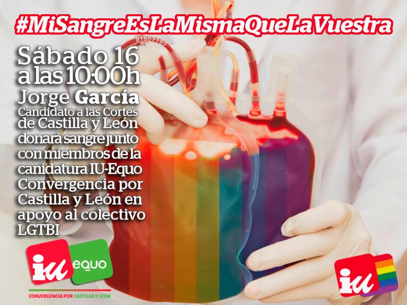 #MiSangreEslaMismaQuelaVuestra