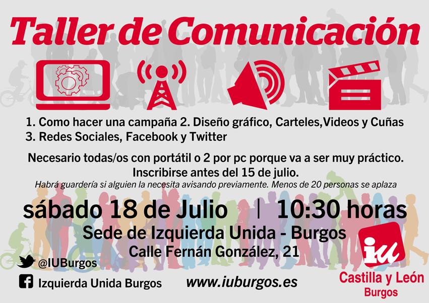 Photo of Taller de Comunicación: