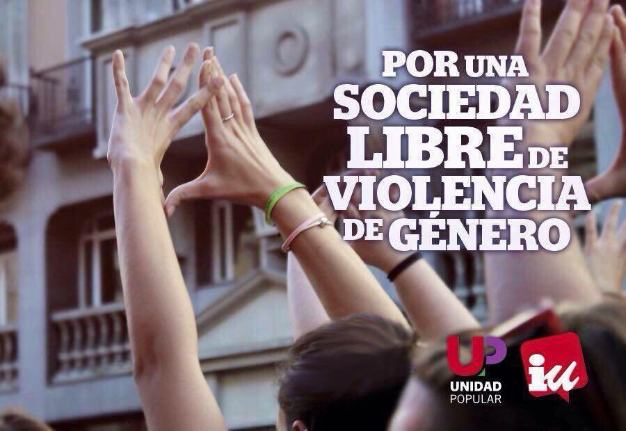 """Photo of """"PACTO DE ESTADO CONTRA LA VIOLENCIA MACHISTA"""": PRIORIDAD EN LA AGENDA POLITICA DEL GRUPO PARLAMENTARIO DE UNIDAD POPULAR-IU"""
