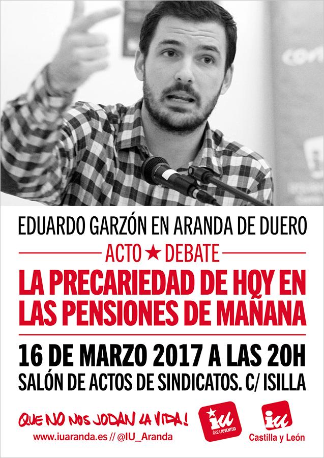 Photo of Charla con Eduardo Garzón, la precariedad de hoy en las pensiones del mañana