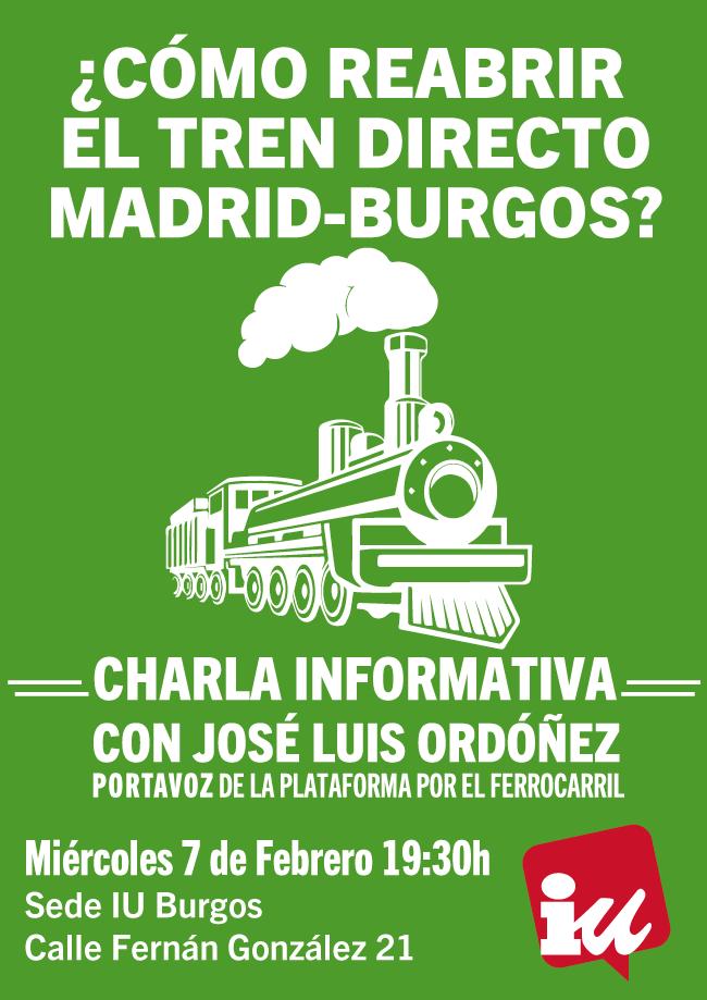 Photo of ¿Cómo reabrir el tren directo Madrid – Burgos?