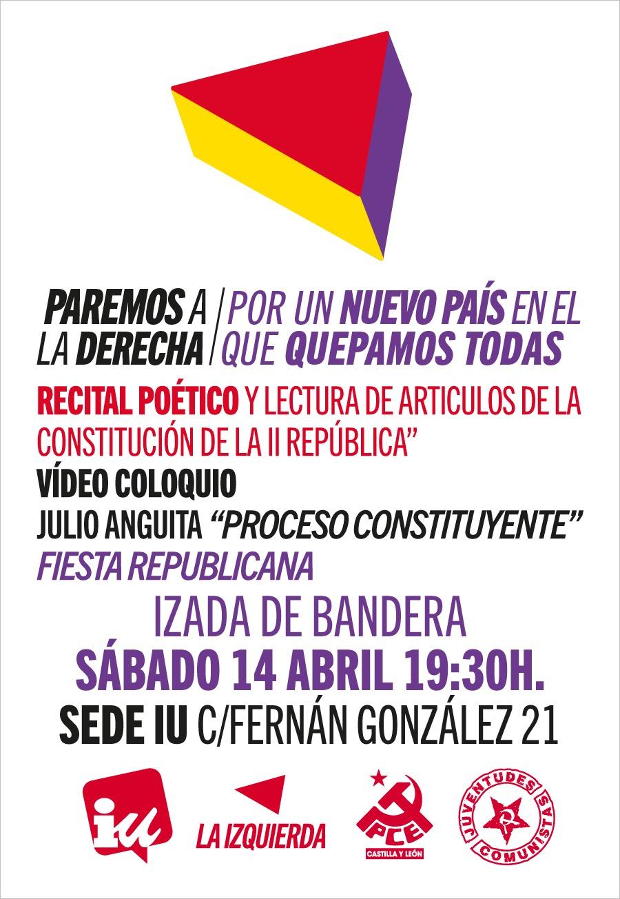 Photo of 14 abril, Paremos a la derecha, por un Nuevo País en el que quepamos todas