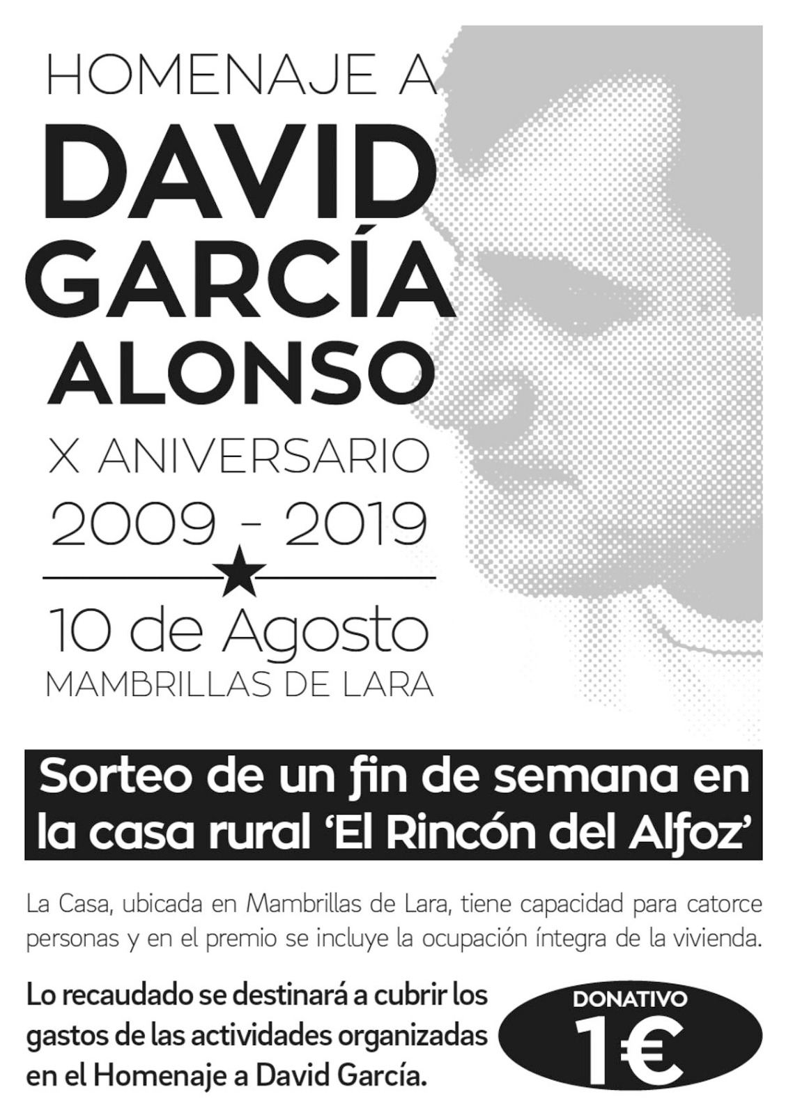 Photo of HOMENAJE DAVID GARCÍA ALONSO X ANIVERSARIO