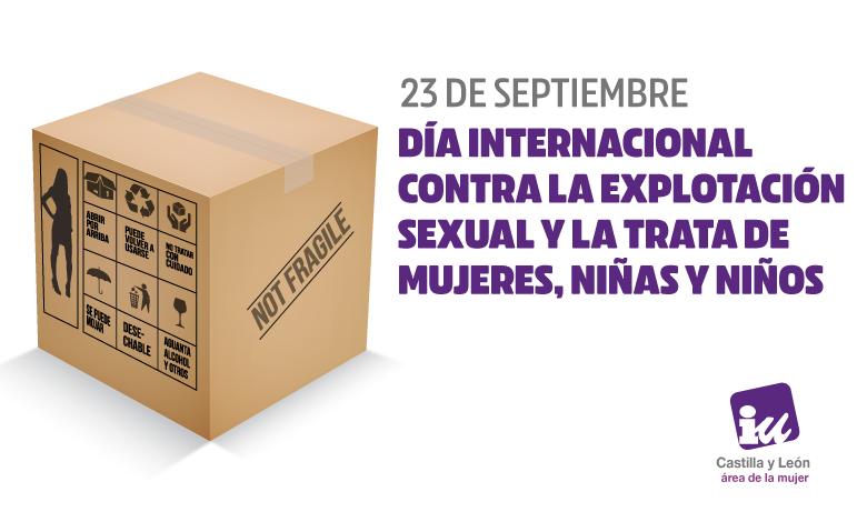 23 de septiembre día contra la trata de mujeres, niñas y niños